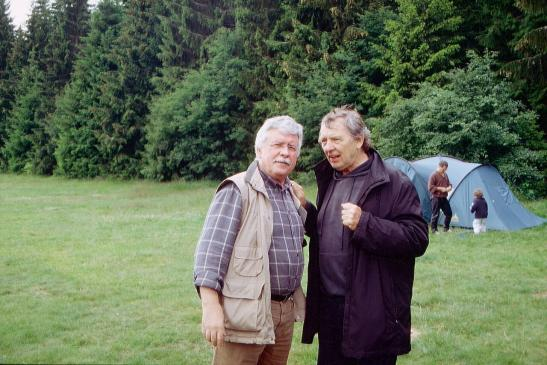 Axel  mit Peter Grohmann